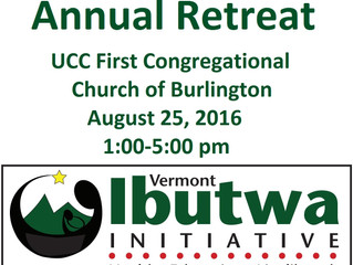 Ibutwa Annual Retreat - Join us on August 25, 2016