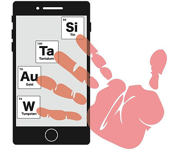 Tin, tungsten, gold, and tantalum four main minerals connected to conflict such as war, gender and sexual based violence, abuse, robbery, and assault.