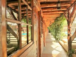 Pasillo Habitaciones Hotel El Barranco