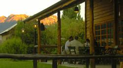 Terraza - Hotel El Barranco