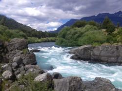 Puente Gelvez, Río Futaleufú