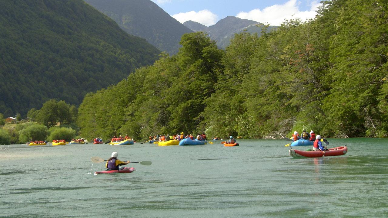 Floating - Río Espolón Futaleu
