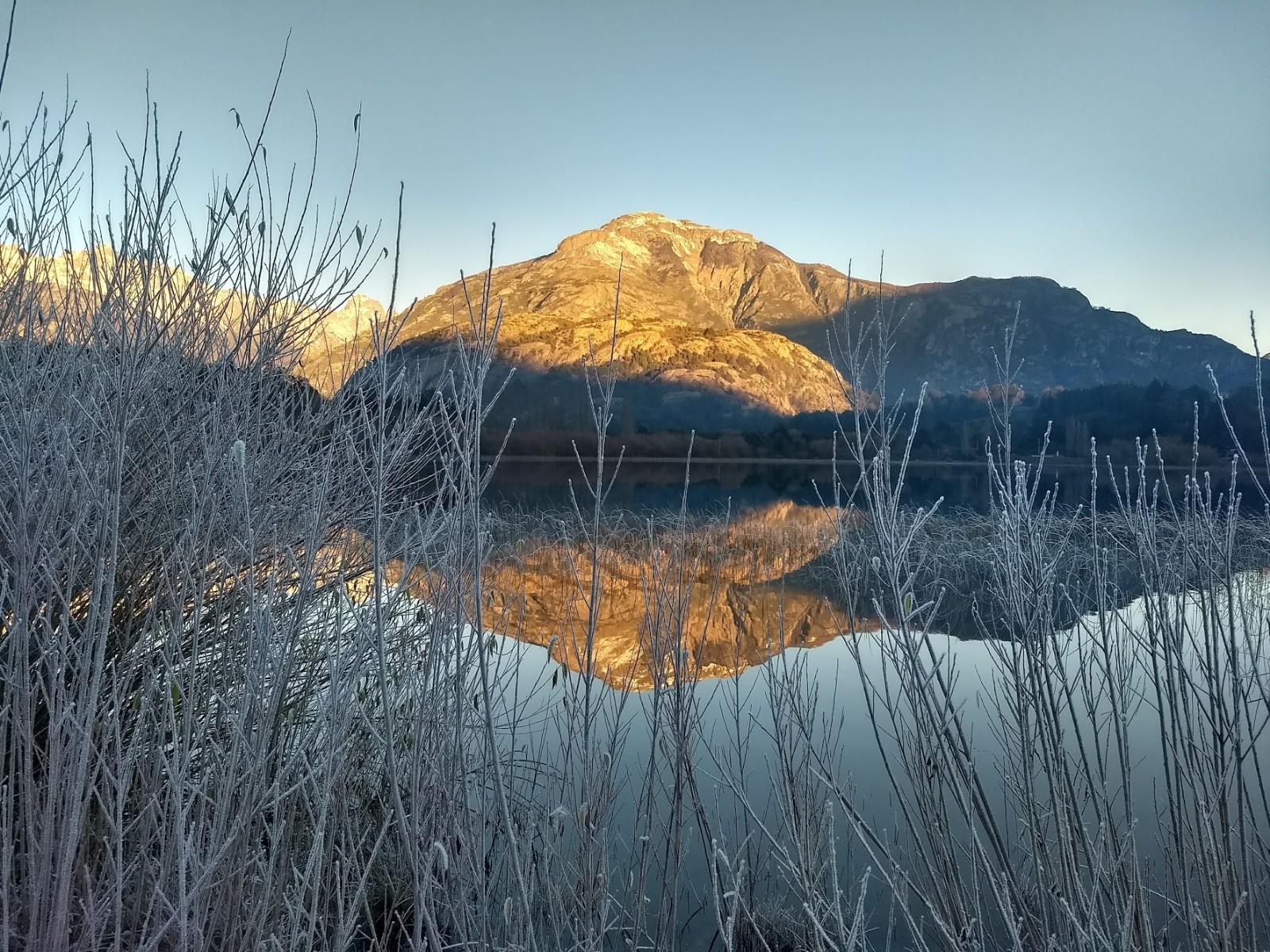 Laguna Espejo en invierno