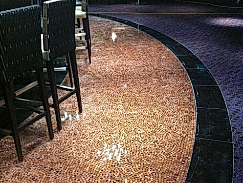 Hippodrome Decorative Penny Floor