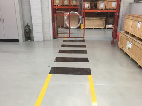 Painted Floor Markings