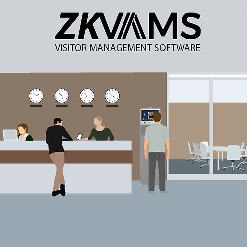 Visitor Authentication & Management System  - ZKVAMS