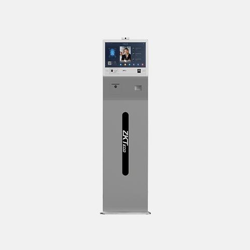 Body Temperature + Mask Detection Visitor Management Kiosk - FK1013+
