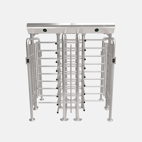 Dual-lane Full Height Turnstile with Optional Access Control Reader- FHT2400D