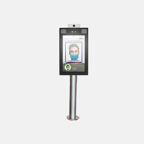 Turnstile Mounting Pole for Body Temp+ Mask Detection Reader -SF-Turnstile-Pole