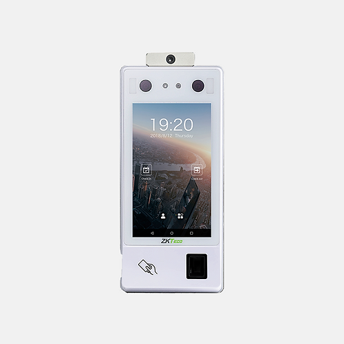 Android Body Temperature + Mask Detection Access Control Reader - SF1007A+