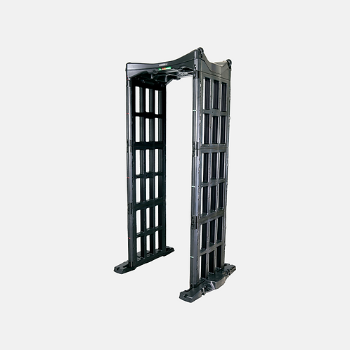 Portable Walk Through Metal Detector with 18 Zones - PD300