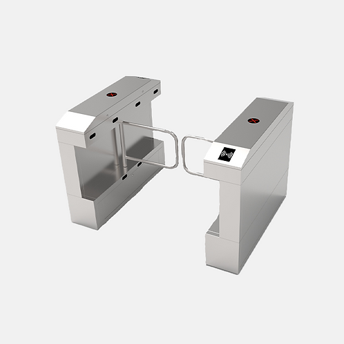 Single-lane Swing Barrier Turnstile with Optional Access Control Reader-SBTL2000