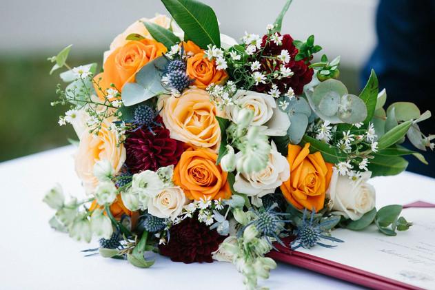 Sunny Bridal Bouquet