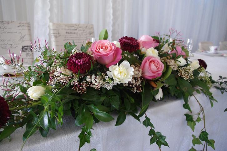 Vintage Bridal Table