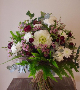 Country bridal bouquet #annespetals #too