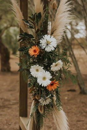 Country Wedding Reflections at Cooby