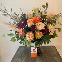 Autum bridal bouquet for Melissa 2 weeks