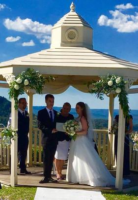 Ceremony at Silver Ridge Wedding Venue171