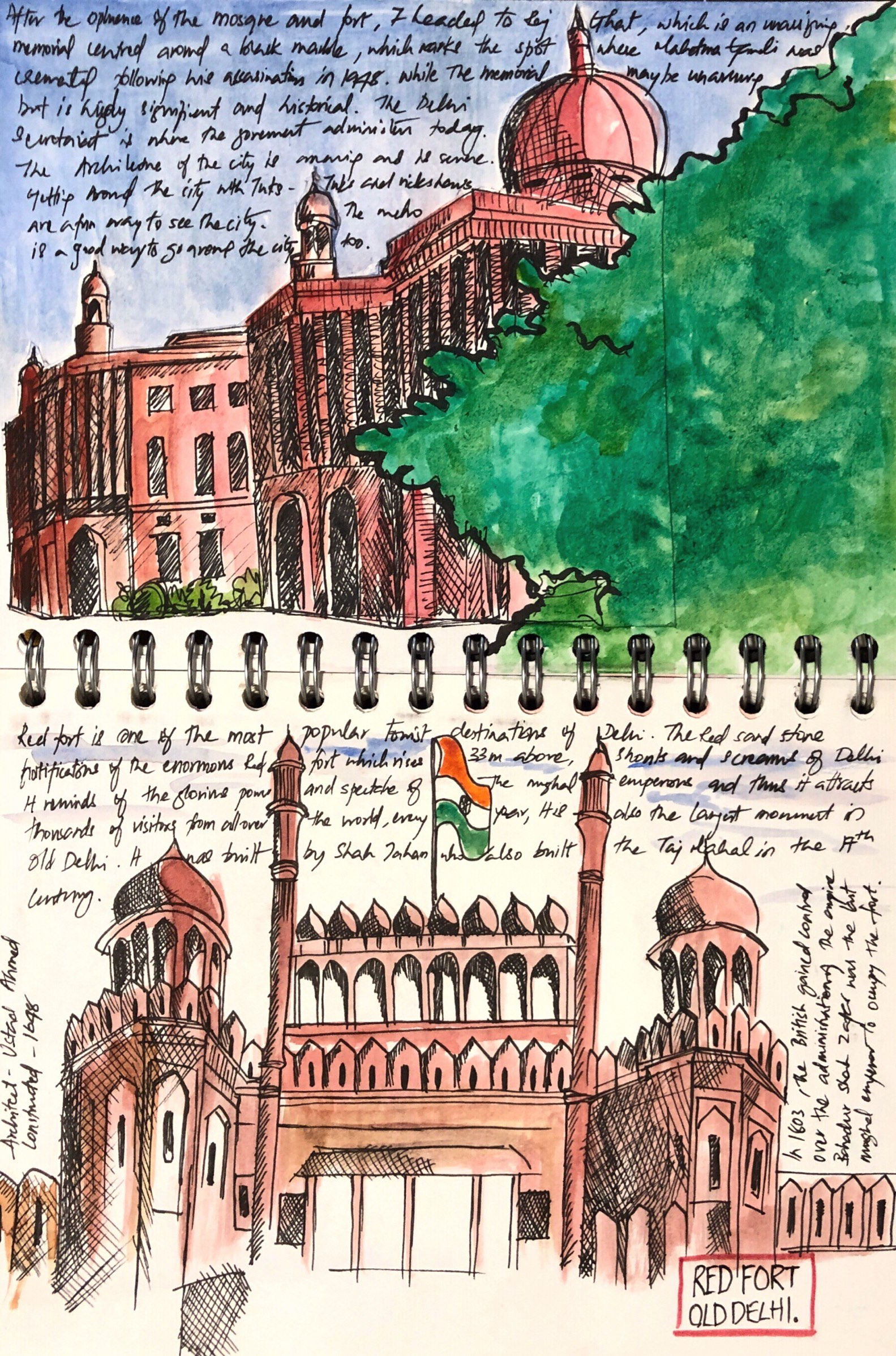 Red-fort-delhi