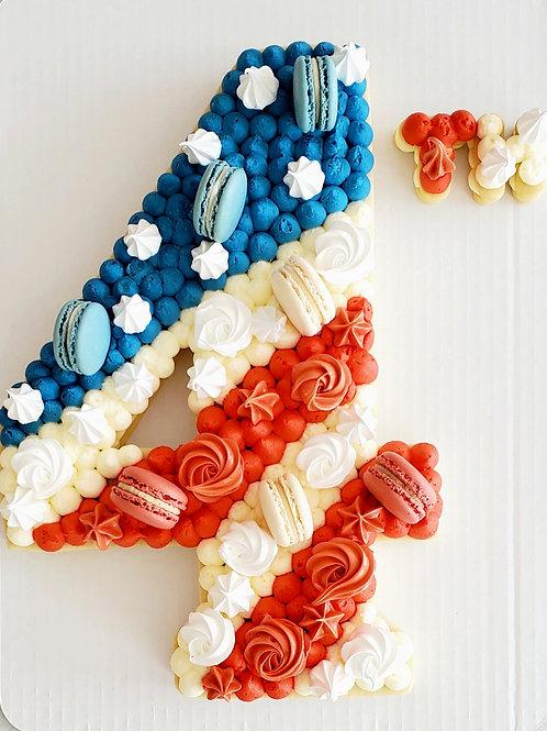 4th of July Tart Cake