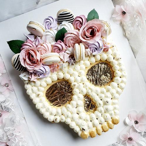 Sugar Skull Tart Cake