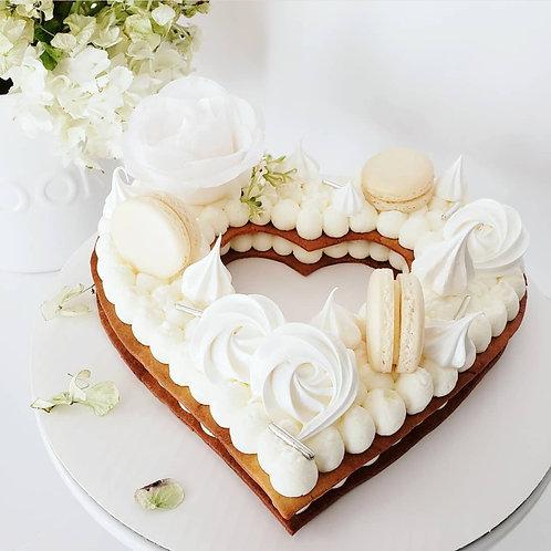 Gluten-Friendly Heart Tart Cake