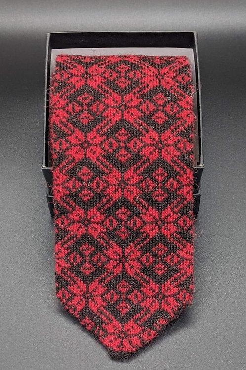 Star Tie - Shetland Wool