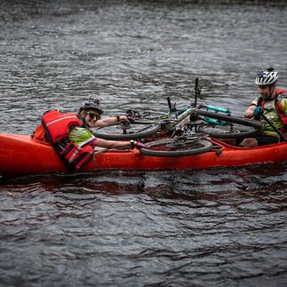 Canoe Portage Myall Lakes