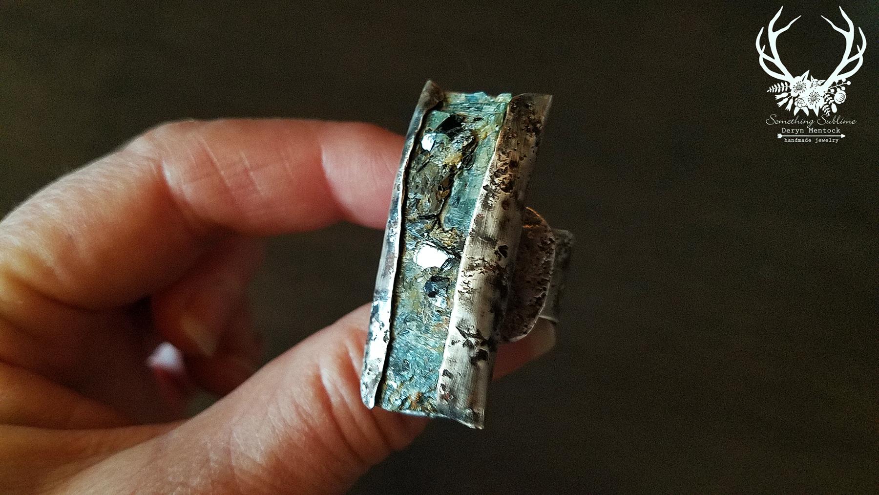 kyanite mica relic ring 3