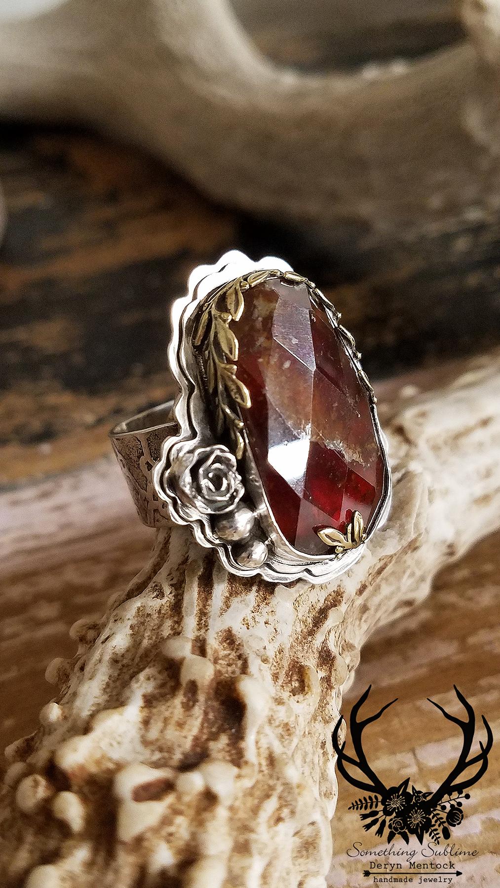 hessonite ring 4