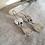 Thumbnail: Ocean Jasper and Prehnite Folded Bezel Earrings