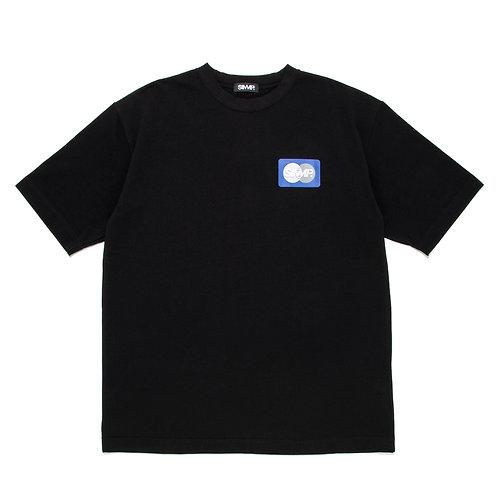 SIMMP. MASTER CARD T-Shirt Black