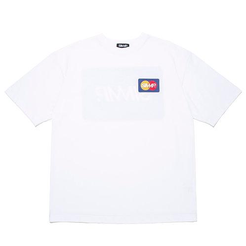 SIMMP. MASTER CARD T-Shirt White
