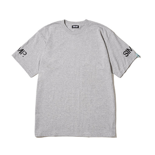 SIMMP. Original T-shirt Gray/Black