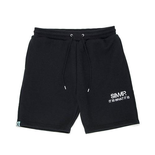 SIMMP. Half Pants Black