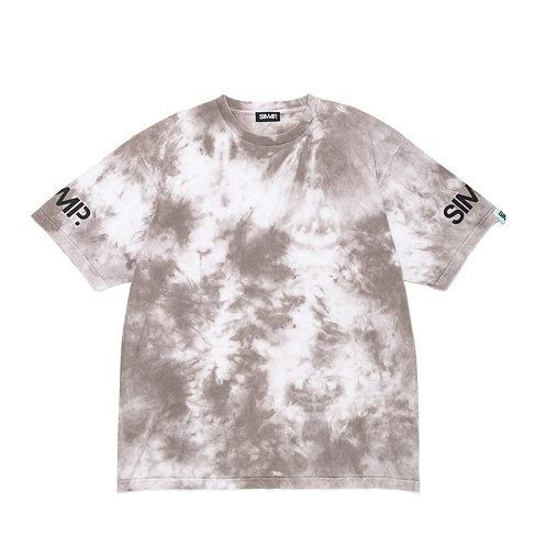SIMMP. Khaki Tie Dye T-shirt