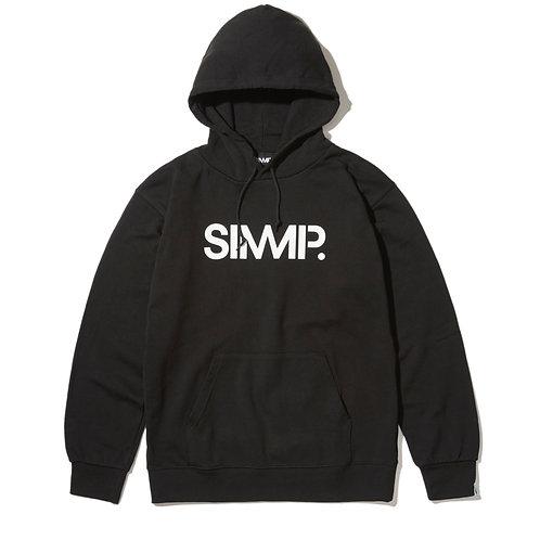 SIMMP. Original Hoodie Black/White