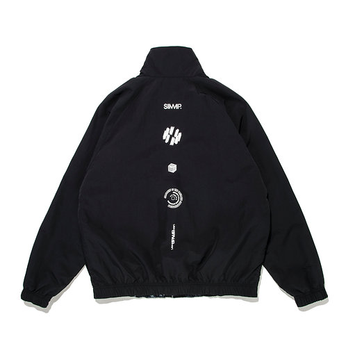 SIMMP. Tie Dye Reversible Jacket