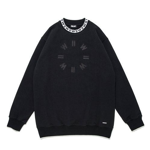 SIMMP. IIWII Crewneck Sweatshirt Black