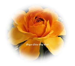 Handmade Clay Rose