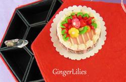 Miniature Clay Cake