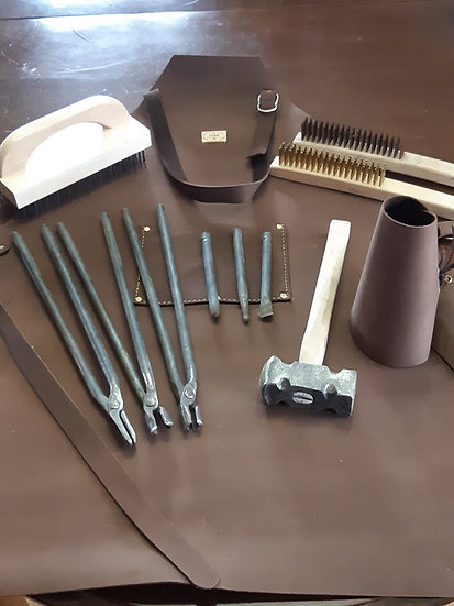 Beginners Blacksmith Tools Set