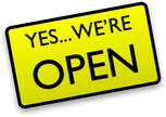 We are opening back up!