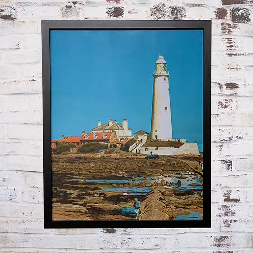 Proud Mary 40x50cm Framed Canvas