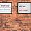Thumbnail: West Ham Brick Sign 24x30cm Art Print