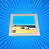 Thumbnail: The Promenade II Glass Coaster