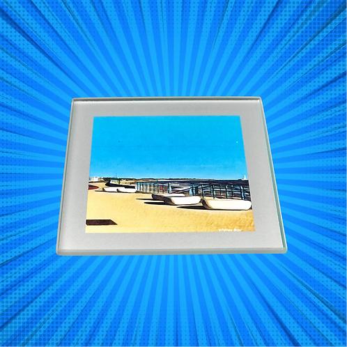 The Promenade II Glass Coaster