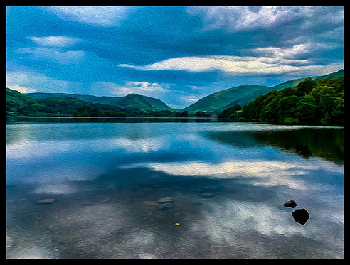 Grasmere 40x50cm Art Print With Textured Finish