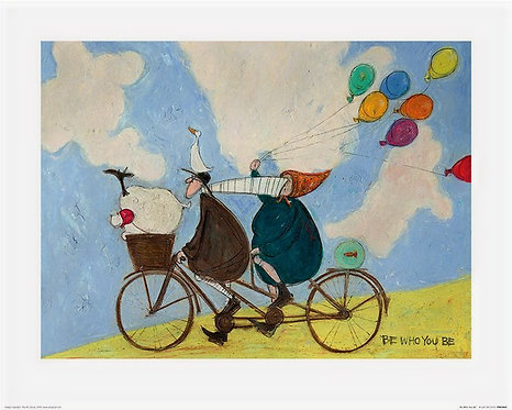 Be Who You Are by Sam Toft 40x50cm Art Print