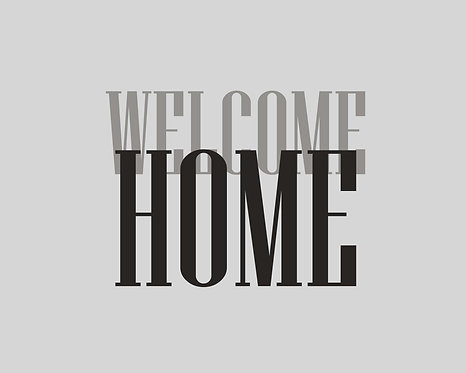 Welcome Home 24x30cm Art Print.